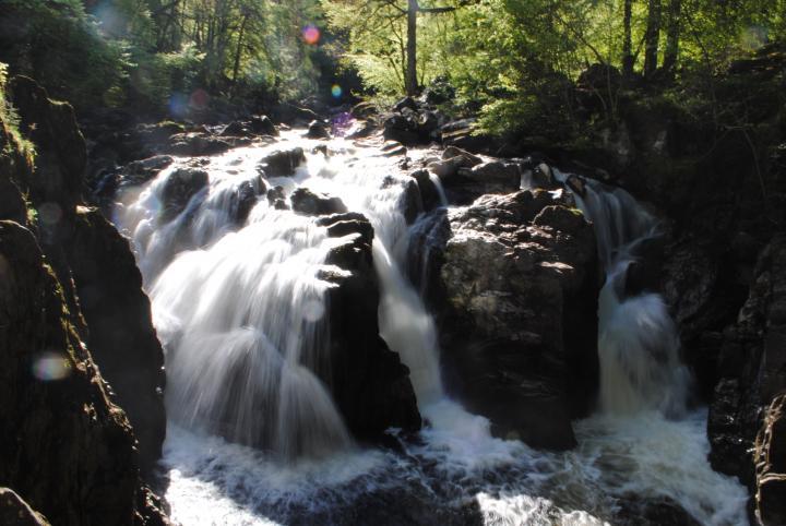 Falls of Braan at the Hermitage, near Dunkeld